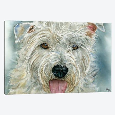 The Glen - Glen of Imaal Terrier Canvas Print #JDI153} by Judith Stein Art Print