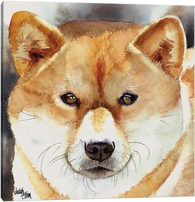 Bold Spirit - Shiba Inu Canvas Art Print