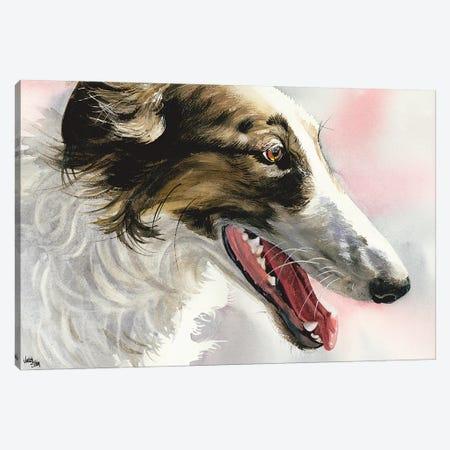 Borzoi Canvas Print #JDI27} by Judith Stein Art Print