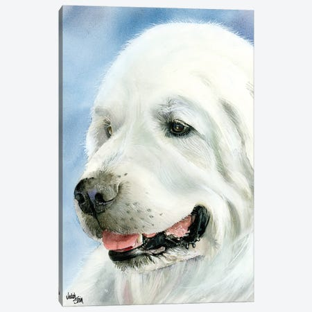 A Certain Elegance - Great Pyrenees Canvas Print #JDI2} by Judith Stein Canvas Art