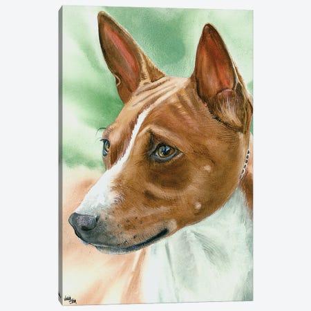 Congo Dog - Basenji Canvas Print #JDI42} by Judith Stein Canvas Artwork
