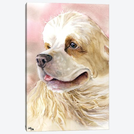 Cream and Sugar - Cocker Spaniel Canvas Print #JDI46} by Judith Stein Canvas Print