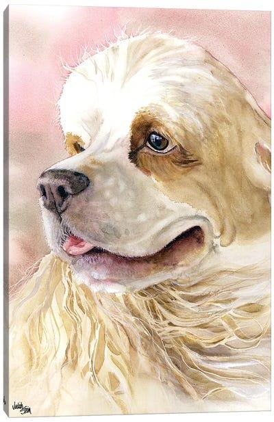 Cream and Sugar - Cocker Spaniel Canvas Art Print