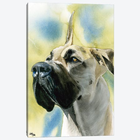 Deutsche Dogge - Great Dane  Canvas Print #JDI50} by Judith Stein Canvas Print
