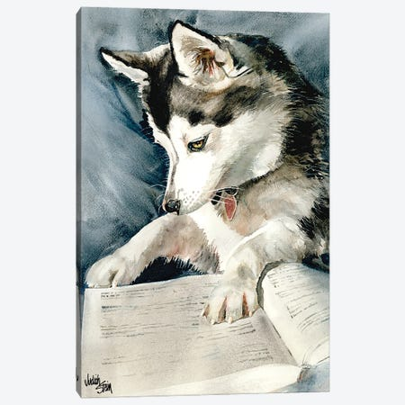 Dog Eared Canvas Print #JDI53} by Judith Stein Canvas Art Print