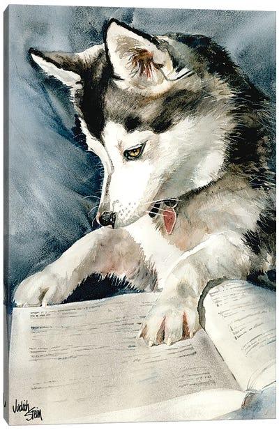 Dog Eared Canvas Art Print
