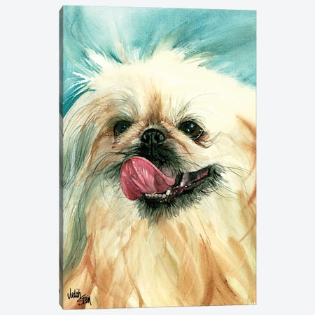 Dog of Foo 3-Piece Canvas #JDI54} by Judith Stein Canvas Artwork