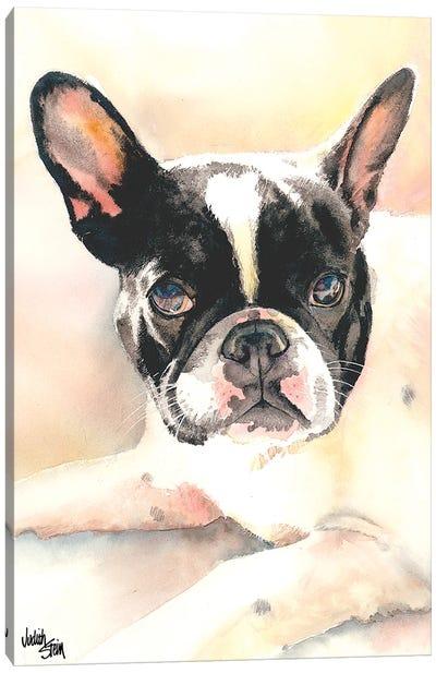 Frenchie Canvas Art Print