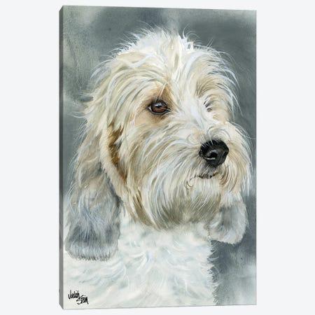Happy Go Lucky - Petit Basset Griffon Vendéen Canvas Print #JDI75} by Judith Stein Canvas Art