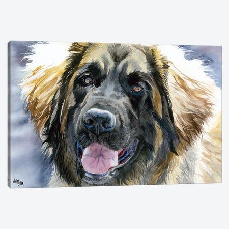 Leo - Leonberger Dog Canvas Print #JDI94} by Judith Stein Canvas Artwork