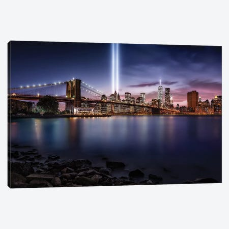Unforgettable 9-11 Canvas Print #JDL14} by Javier de la Torre Art Print