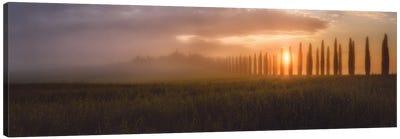 Tuscany Sunrising Canvas Art Print