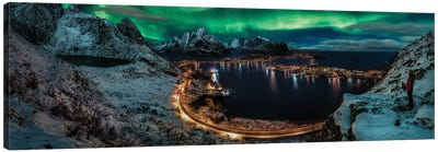 Chasing The Northern Lights Canvas Art Print