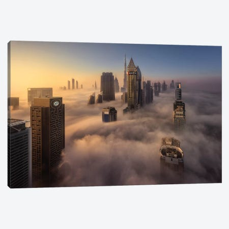 Cloud City Canvas Print #JDL6} by Javier de la Torre Canvas Art