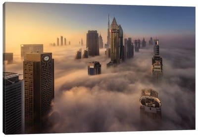 Cloud City Canvas Art Print