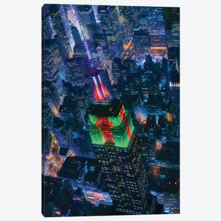 Flying Nyc Canvas Print #JDL8} by Javier de la Torre Canvas Print