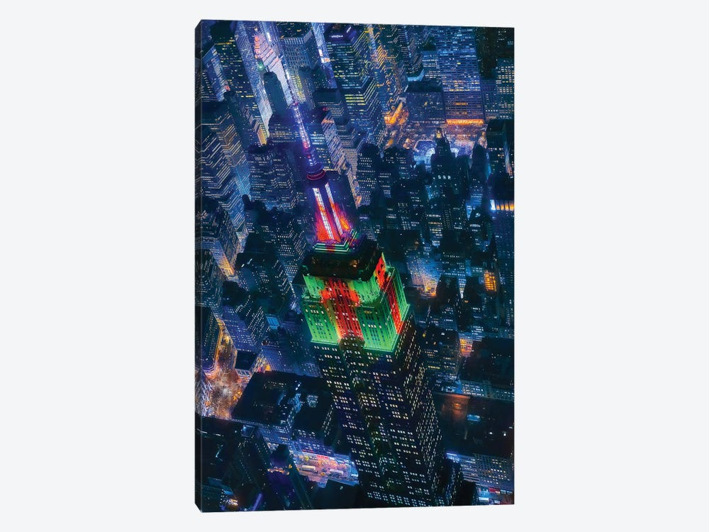 Flying Nyc by Javier de la Torre 1-piece Art Print