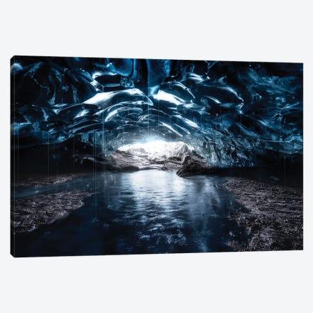 Into The Blue Canvas Print #JDL9} by Javier de la Torre Art Print