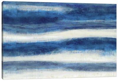 Emerge In Indigo Canvas Art Print