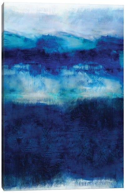 Indigo Dawn Canvas Art Print