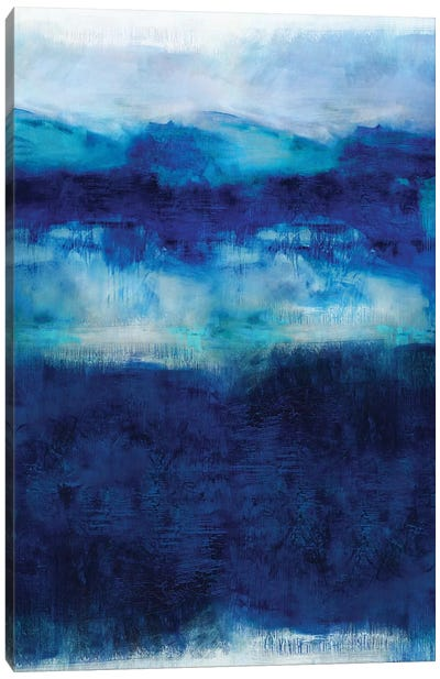 Indigo Dawn Canvas Art Print