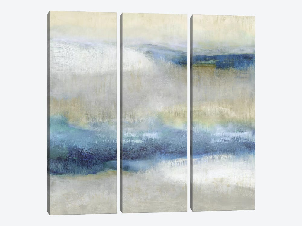 Indigo Motion II by Jaden Blake 3-piece Canvas Artwork
