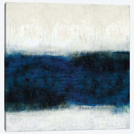 Linear Midnight Canvas Print #JDN16} by Jaden Blake Canvas Art Print