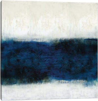 Linear Midnight Canvas Art Print