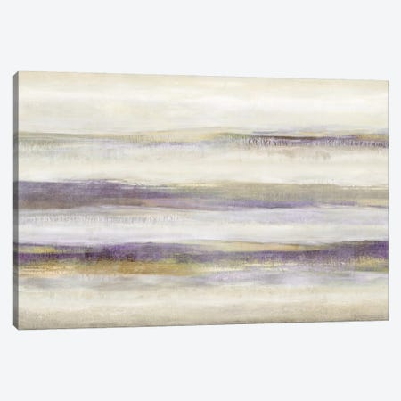 Linear Motion Amethyst Canvas Print #JDN18} by Jaden Blake Canvas Wall Art