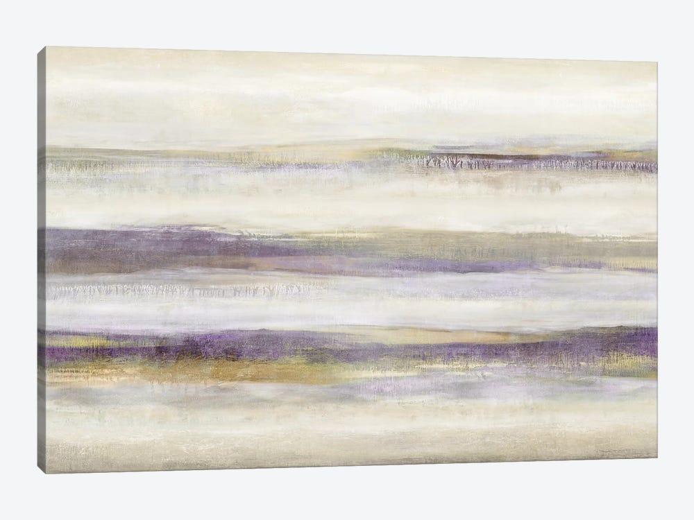 Linear Motion Amethyst by Jaden Blake 1-piece Canvas Print