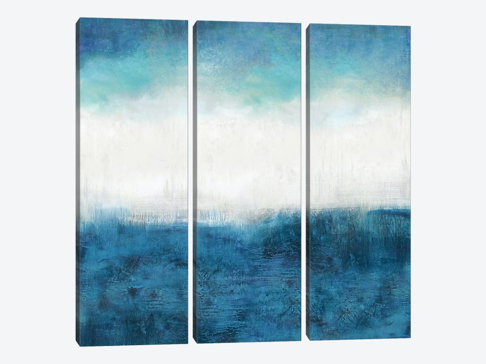 Aqua Dawn by Jaden Blake 3-piece Canvas Artwork