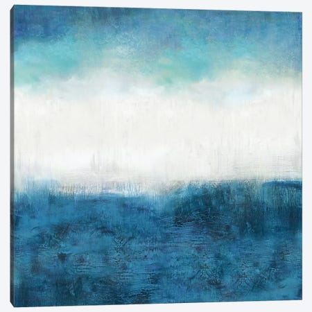 Aqua Dawn Canvas Print #JDN1} by Jaden Blake Art Print