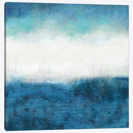 Aqua Dawn Canvas Print #JDN1} by Jaden Blake Art Print