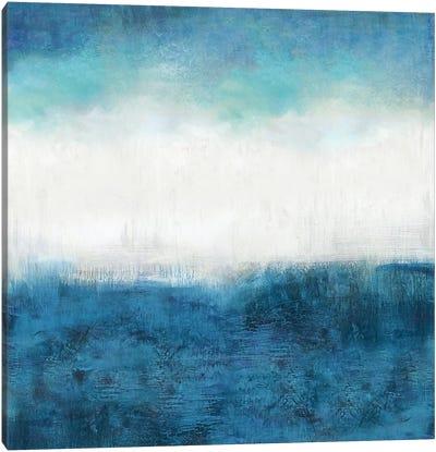 Aqua Dawn Canvas Art Print