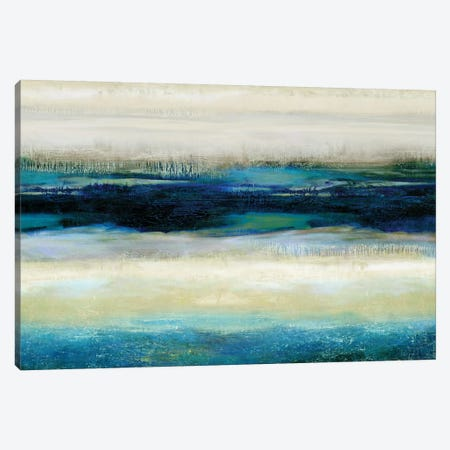 Reflections In Blue Canvas Print #JDN22} by Jaden Blake Art Print