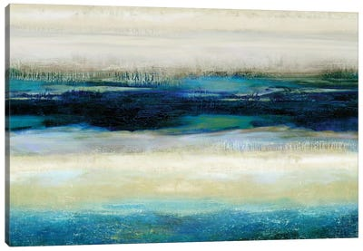 Reflections In Blue Canvas Art Print