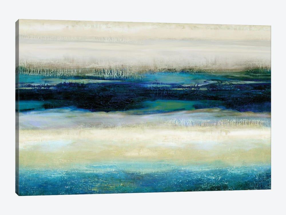 Reflections In Blue by Jaden Blake 1-piece Canvas Art