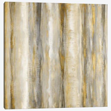Vertical Motion Golden Canvas Print #JDN24} by Jaden Blake Canvas Artwork
