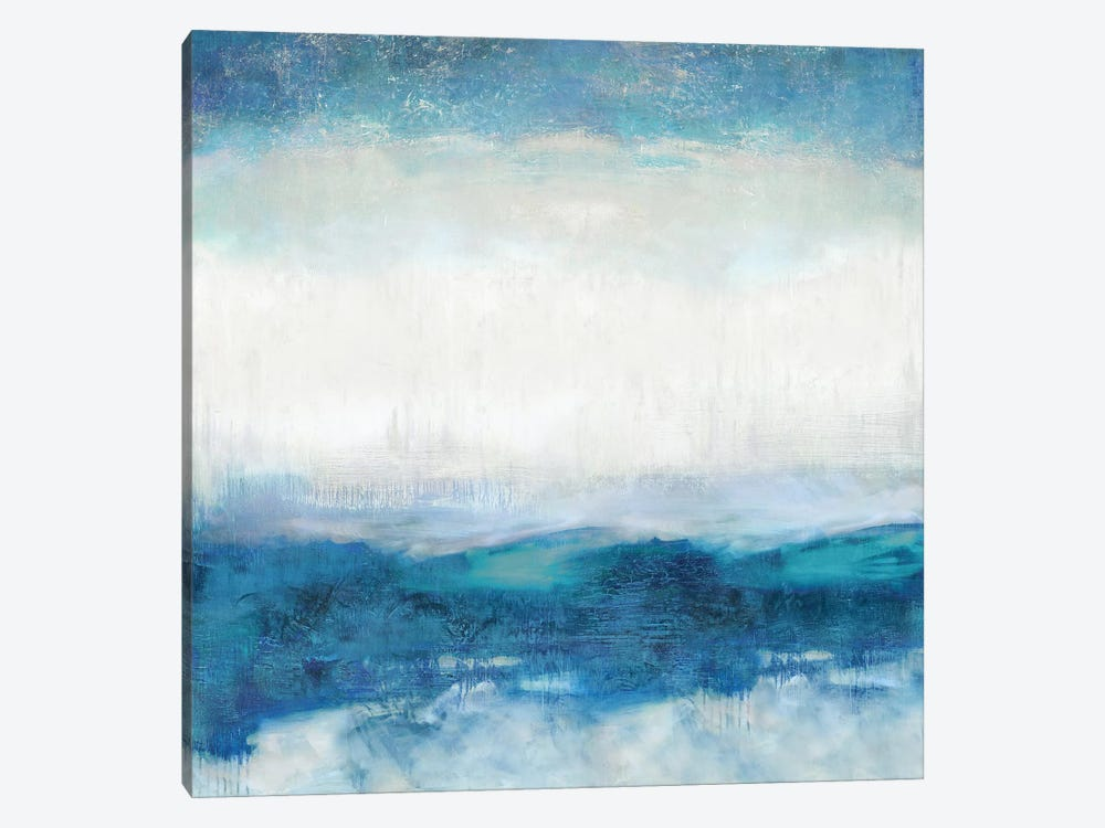 Aqua Motion by Jaden Blake 1-piece Canvas Art Print