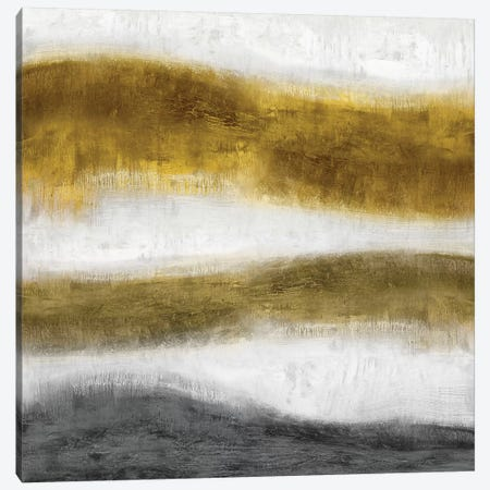 Emerge Golden Canvas Print #JDN7} by Jaden Blake Canvas Art