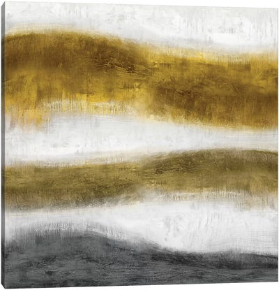 Emerge Golden Canvas Art Print
