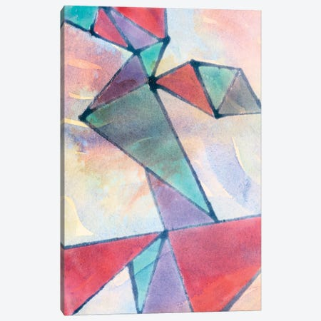 Lucent Shards I Canvas Print #JDO1} by Jamie Douglas Canvas Art