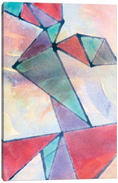 Lucent Shards I Canvas Art Print