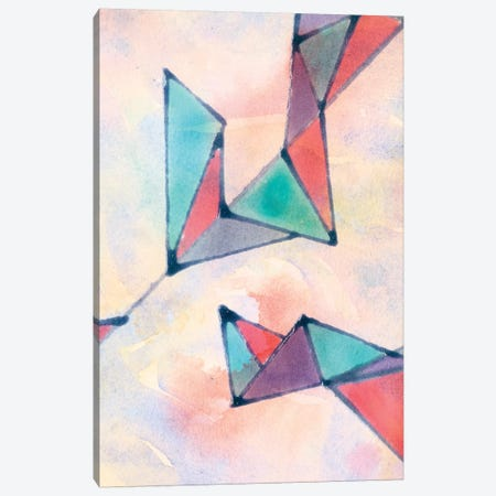 Lucent Shards II Canvas Print #JDO2} by Jamie Douglas Canvas Artwork