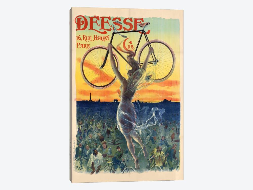Déesse Cycles Advertisement by Jean de Paleologu 1-piece Canvas Art