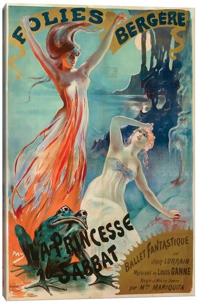Folies Bergere Canvas Art Print