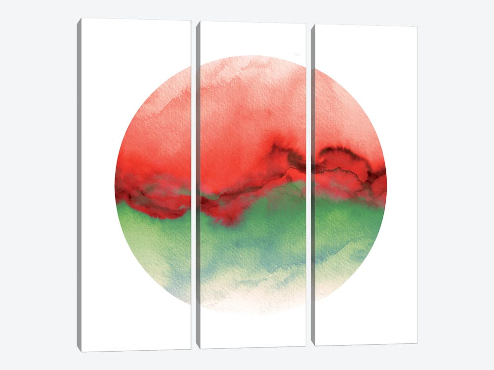 Flow X by Julia Di Sano 3-piece Canvas Wall Art