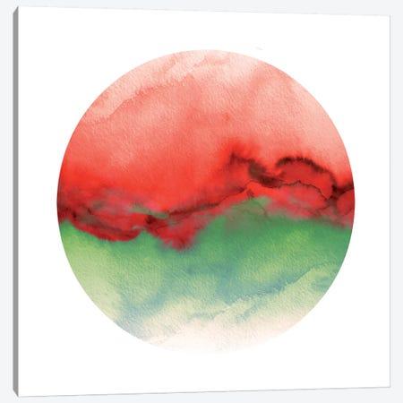 Flow X Canvas Print #JDS102} by Julia Di Sano Art Print