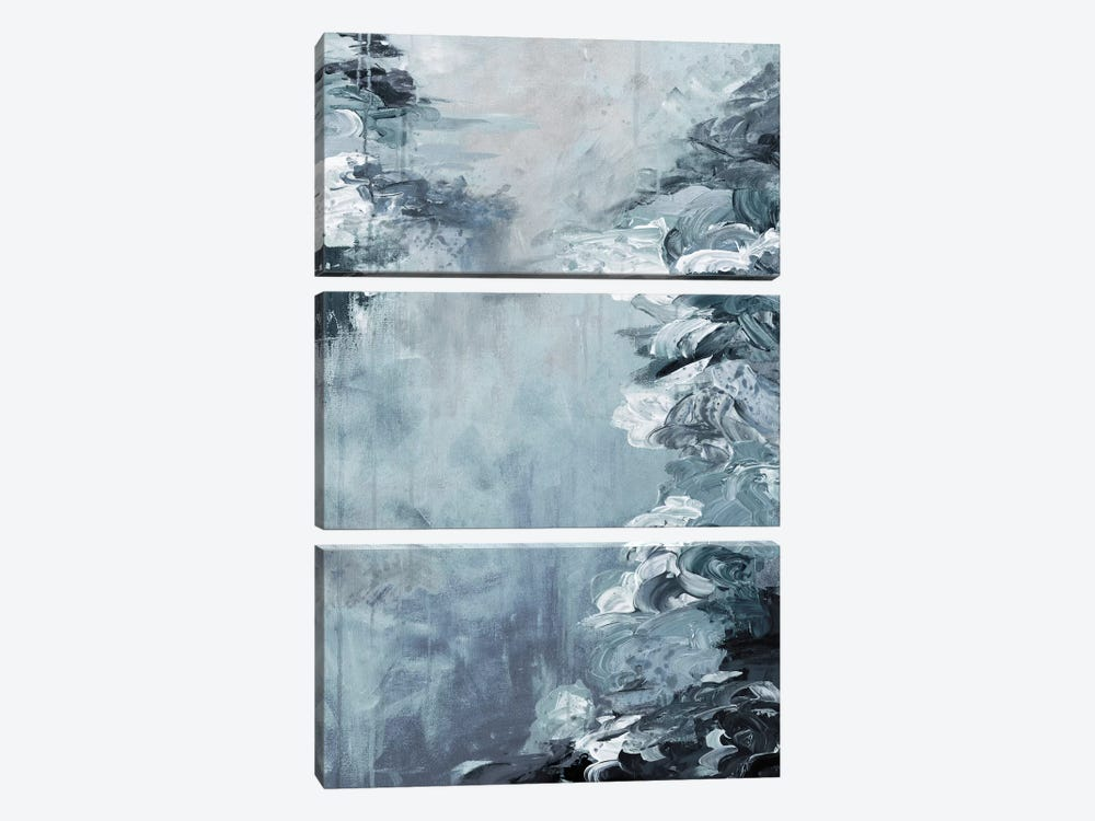 Lakefront Escape VII by Julia Di Sano 3-piece Canvas Wall Art