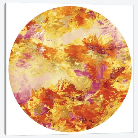 Mermaid Circle I Canvas Print #JDS119} by Julia Di Sano Canvas Artwork